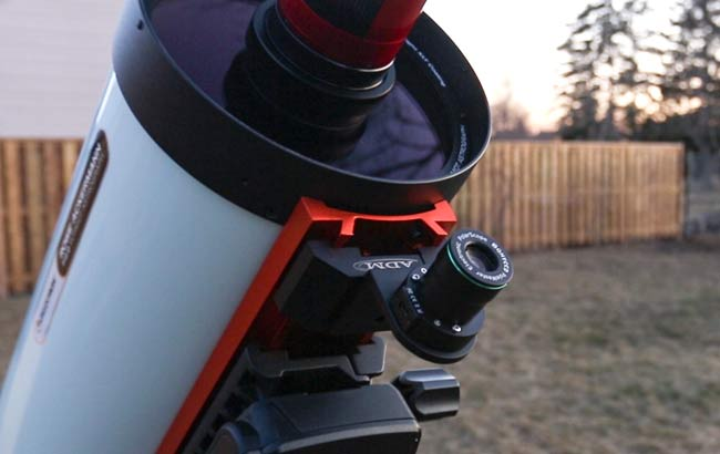Celestron QHY PoleMaster adapter