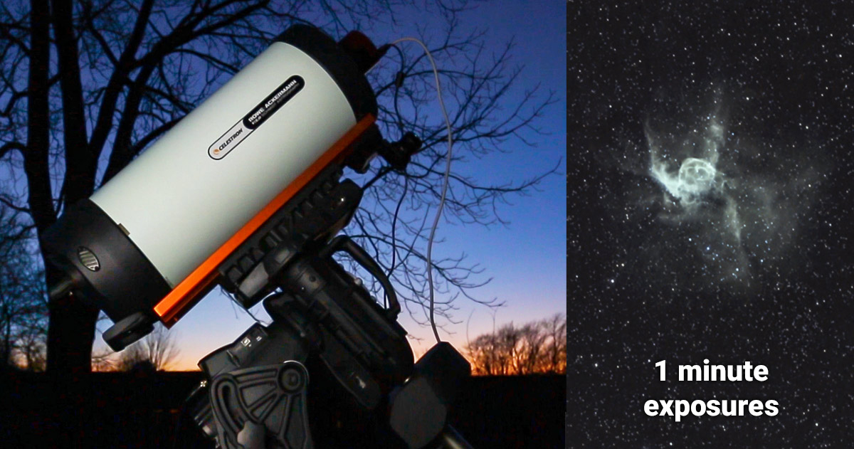 Celestron RASA 8 F/2 Review | Deep Images in 60-Seconds Flat