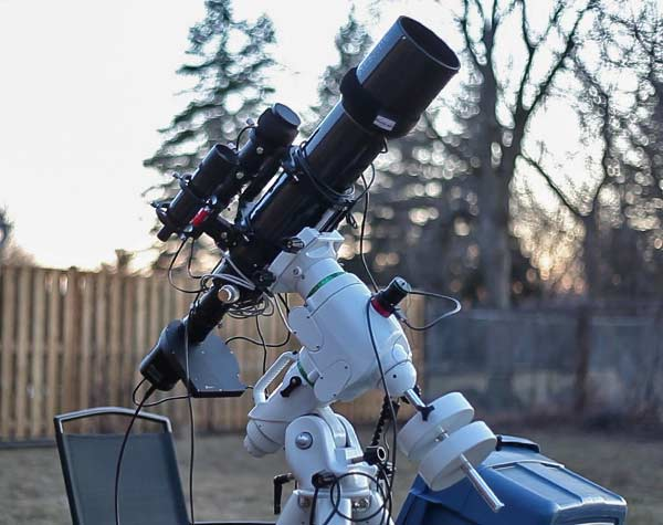 deep sky astrophotography equipment