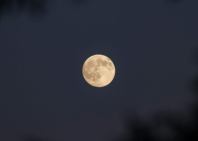 The Moon at 300mm