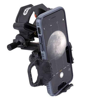 Smartphone telescope adapter