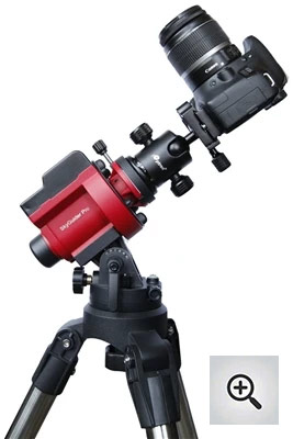 iOptron SkyGuider Pro with iPolar