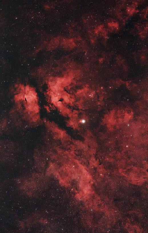 DSLR astrophotography image