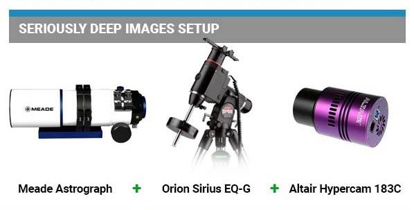 Astrophotography Equipment - Basic Setup for Deep-Sky Imaging