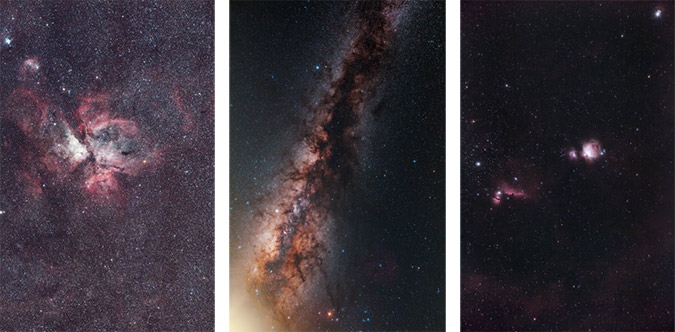 camera lens astrophotography