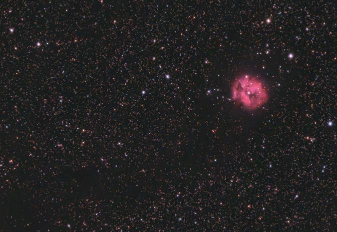 cocoon nebula DSLR