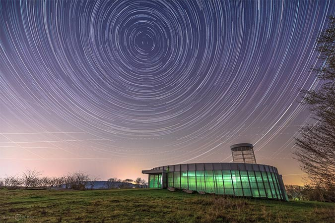 star trail images