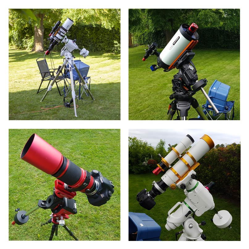 Astrophotography Equipment - Basic Setup for Deep-Sky Imaging