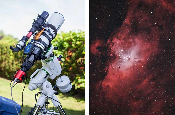 tracking telescope
