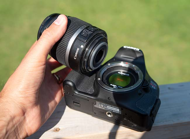 EF-S lens compatibility