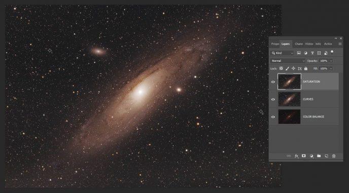 Andromeda Galaxy Photoshop Tutorial