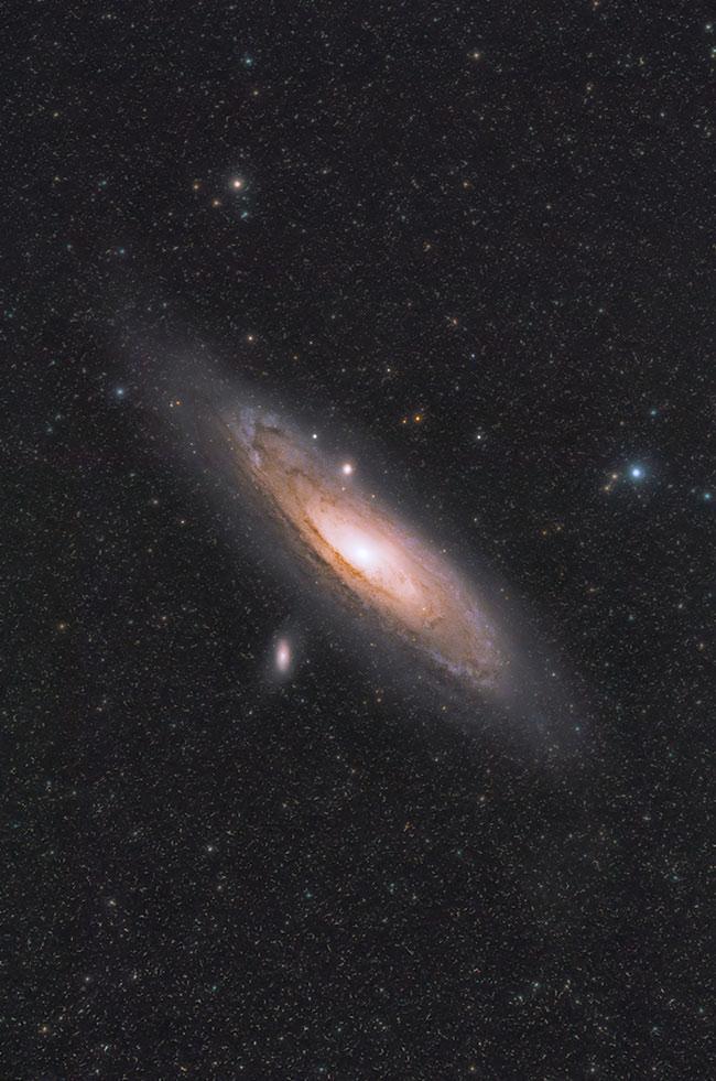 Andromeda Galaxy RedCat 51