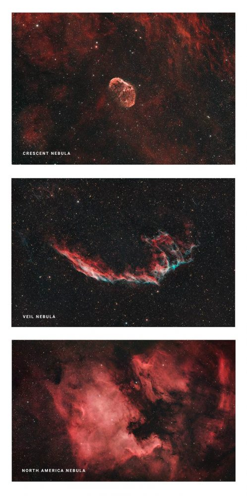 deep sky objects in Cygnus