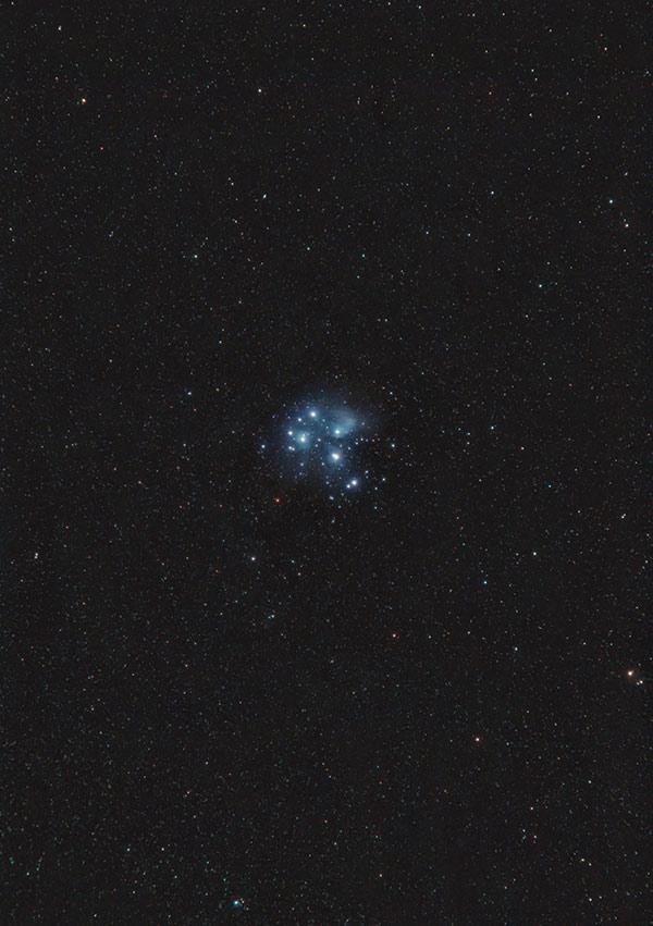 Pleiades wide-field image