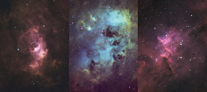astrophotography images using the EQ8-R Pro mount