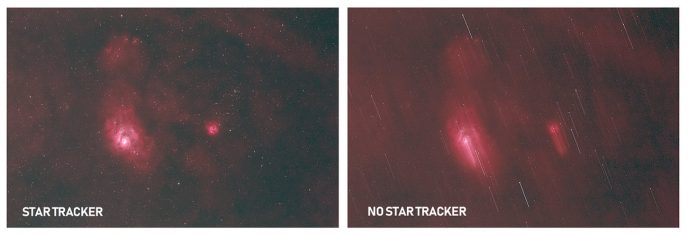 how to use a star tracker
