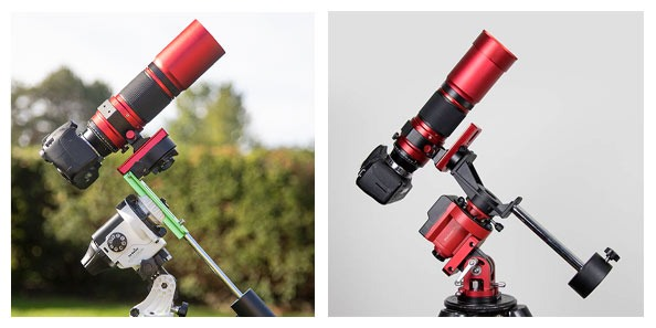 Sky-Watcher Star Adventurer vs. iOptron SkyGuider Pro