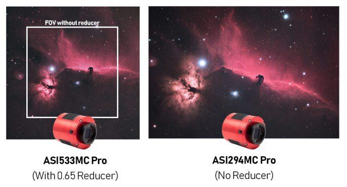 ASI533 ASI294 comparison