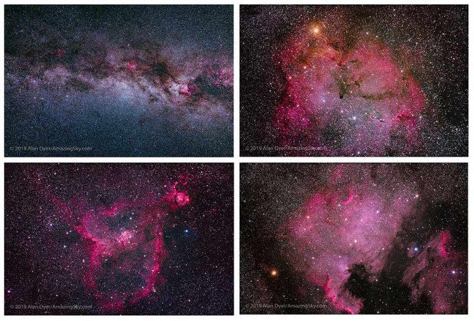 Canon EOS Ra astrophotography examples