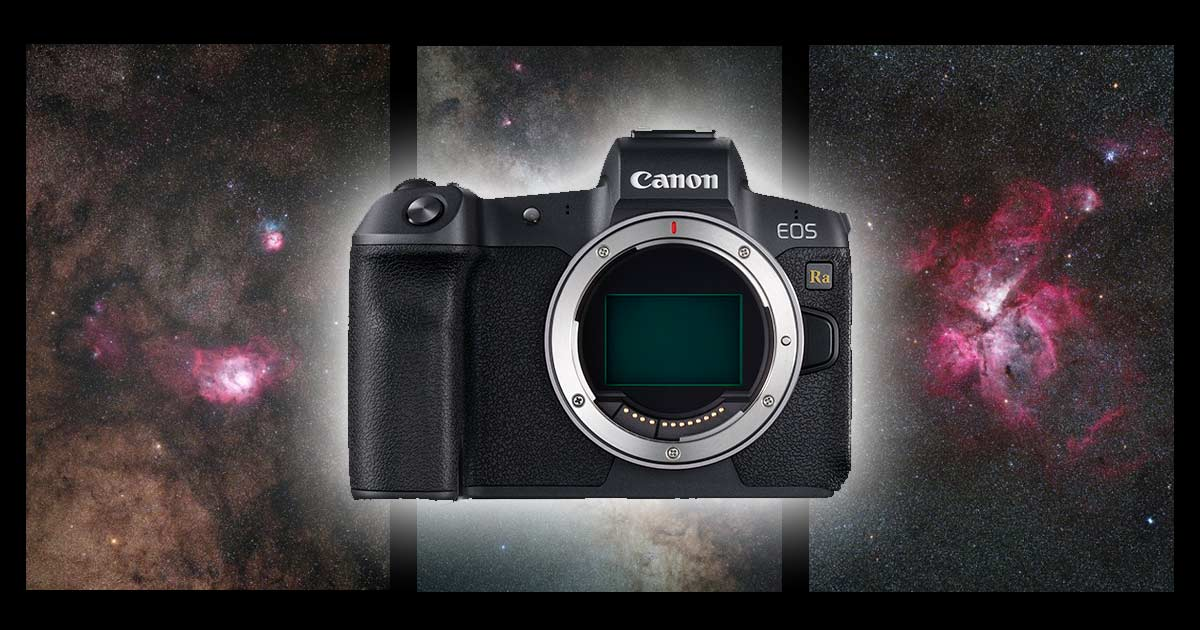 The Canon Eos Ra Full Frame Mirrorless Astrophotography Camera