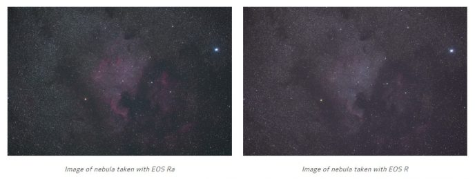 EOS Ra vs. R
