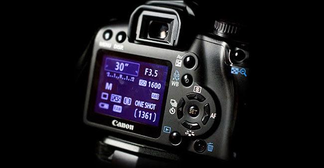 focus DSLR astrophotography