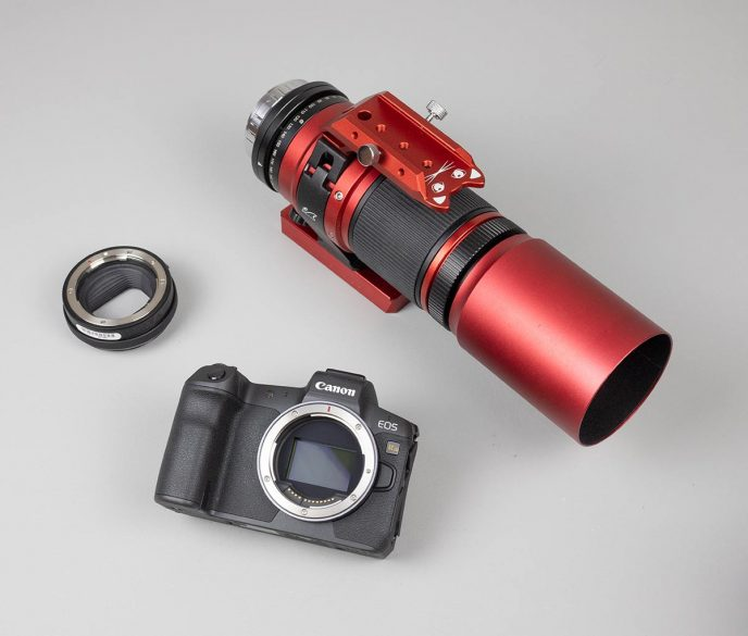 mirrorless camera and telescope
