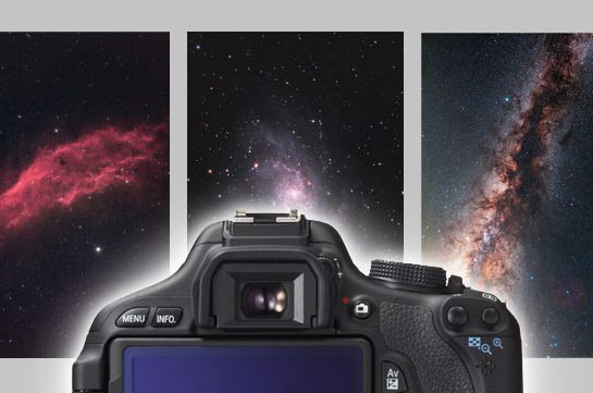 DSLR camera for astrophotography