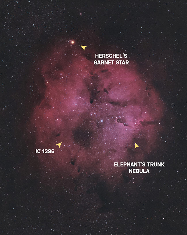 Deep sky objects in Cepheus