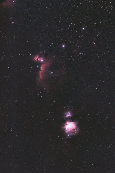 Nebula in Orion