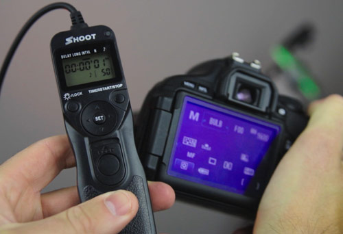 Remote shutter release cable