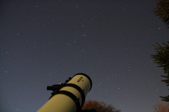 telescope observing