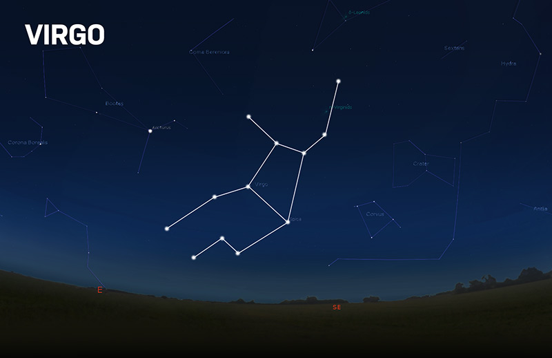 The Constellation Virgo | Pictures, Deep Sky Objects, and More