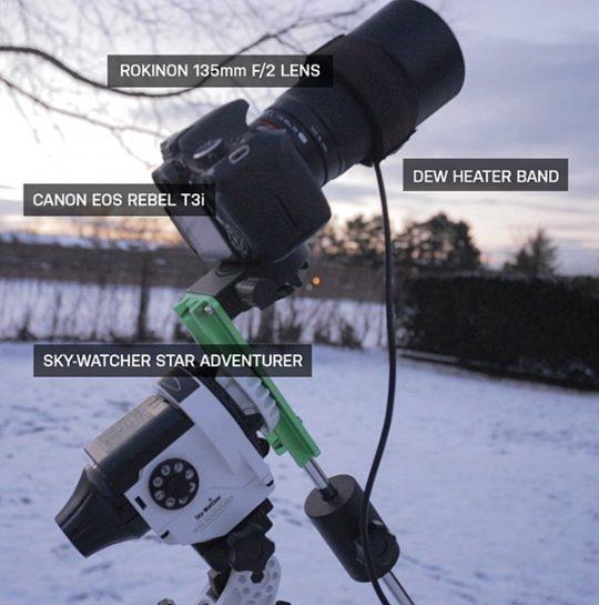 budget astrophotography setup