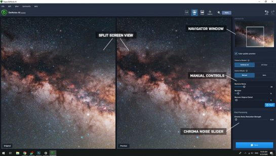 DeNoise AI Photoshop Plugin