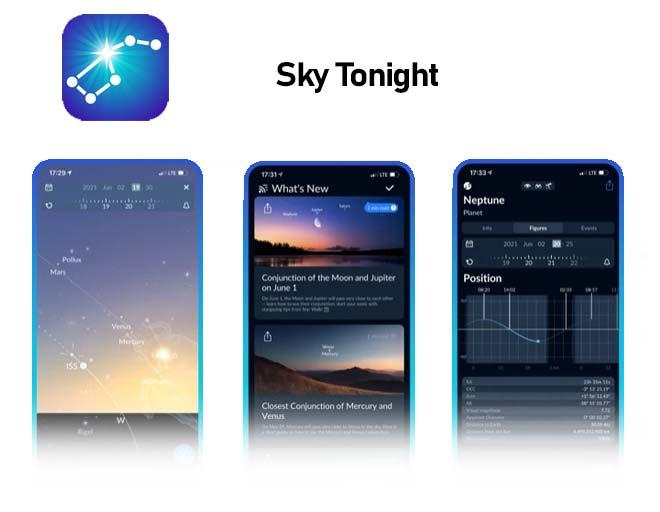 Sky Tonight Mobile App