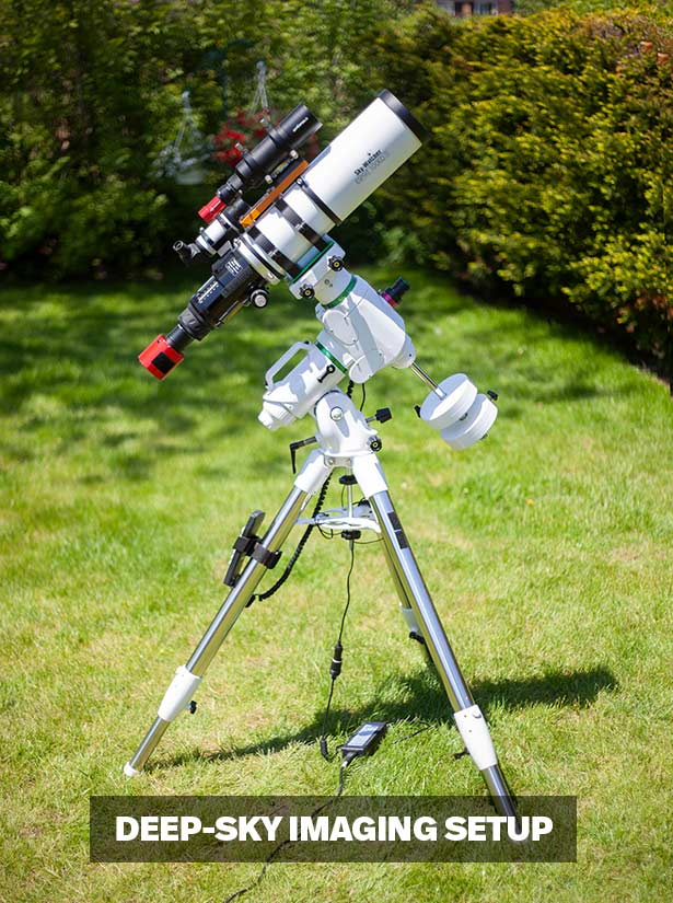 astrophotography equipment setup