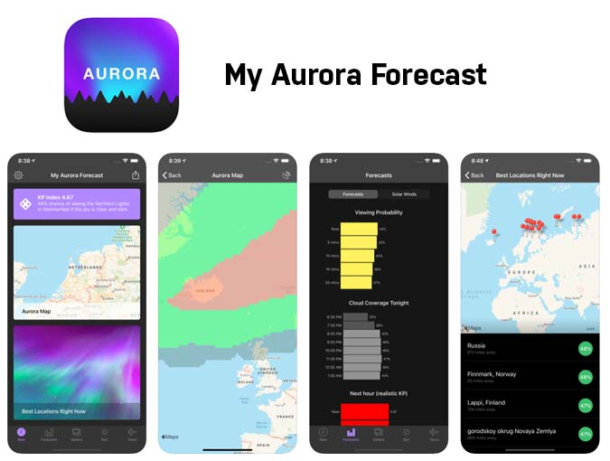 My Aurora Forecast