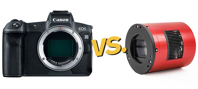 DSLR vs. dedicated astronomy camera