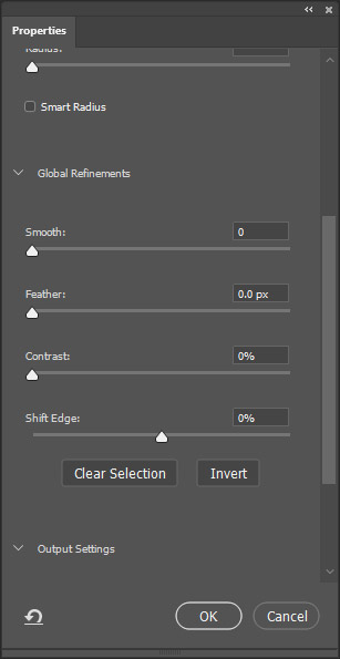 Photoshop settings