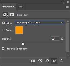 warming filter