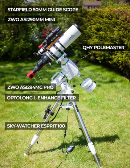 complete astrophotography kit