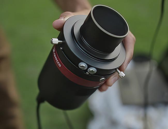 one-shot-color astronomy camera