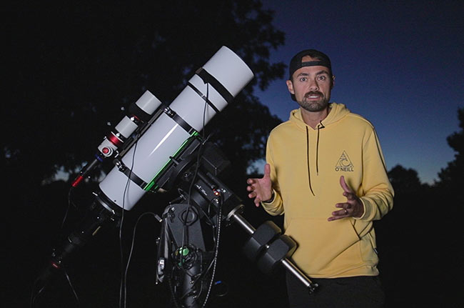 AstroBackyard telescope