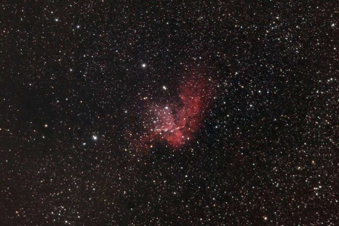 Wizard Nebula DSLR
