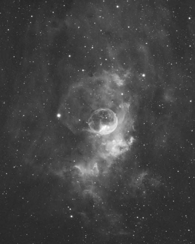 Bubble Nebula Ha