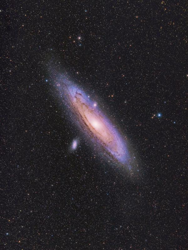 Andromeda Galaxy Radian Raptor 61