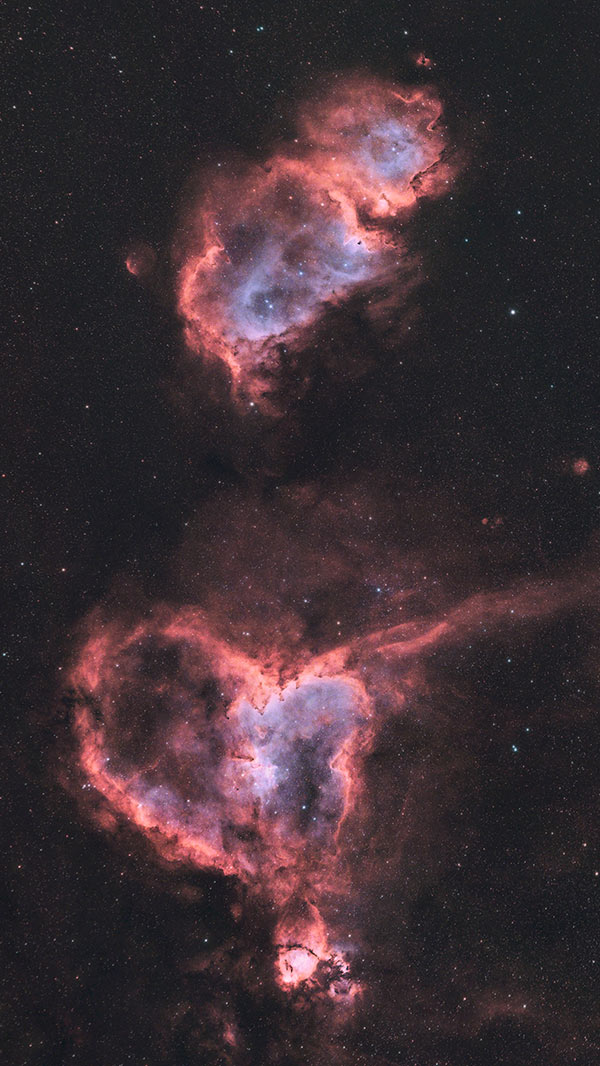 heart and soul nebula radian raptor 61