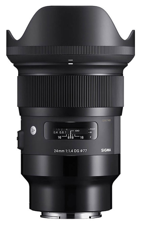 Sigma 24mm F/1.4 Art Canon