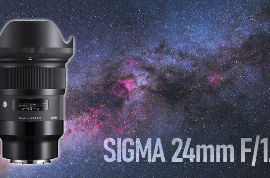 Sigma 24mm F/1.4 Lens for Astrophotography